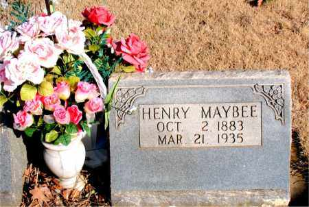 MAYBEE, HENRY - Newton County, Arkansas   HENRY MAYBEE - Arkansas Gravestone Photos