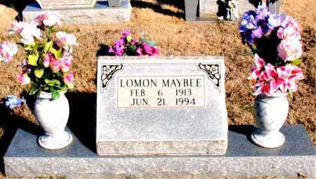 MAYBEE, LOMON - Newton County, Arkansas   LOMON MAYBEE - Arkansas Gravestone Photos