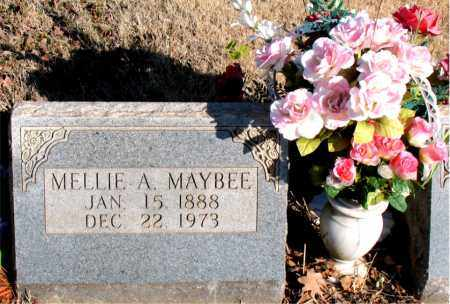 MAYBEE, MELLIE A. - Newton County, Arkansas | MELLIE A. MAYBEE - Arkansas Gravestone Photos
