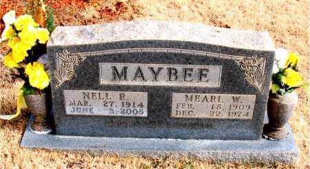 MAYBEE, MEARL W. - Newton County, Arkansas | MEARL W. MAYBEE - Arkansas Gravestone Photos