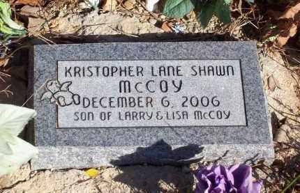 MCCOY, KRISTOPHER LANE SHAWN - Newton County, Arkansas | KRISTOPHER LANE SHAWN MCCOY - Arkansas Gravestone Photos