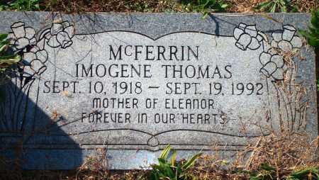 MCFERRIN, IMOGENE - Newton County, Arkansas | IMOGENE MCFERRIN - Arkansas Gravestone Photos