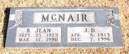 MCNAIR, J. D. - Newton County, Arkansas | J. D. MCNAIR - Arkansas Gravestone Photos