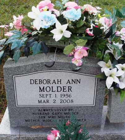 MOLDER, DEBORAH ANN - Newton County, Arkansas   DEBORAH ANN MOLDER - Arkansas Gravestone Photos