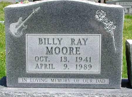 MOORE, BILLY RAY - Newton County, Arkansas | BILLY RAY MOORE - Arkansas Gravestone Photos