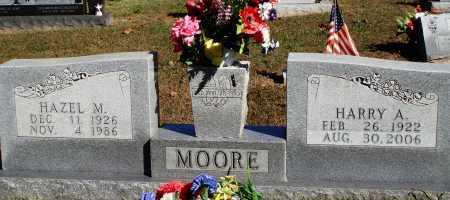 MOORE, HARRY A. - Newton County, Arkansas | HARRY A. MOORE - Arkansas Gravestone Photos