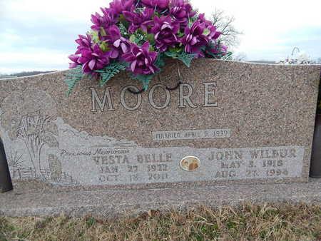 MOORE, JOHN WILBUR - Newton County, Arkansas   JOHN WILBUR MOORE - Arkansas Gravestone Photos