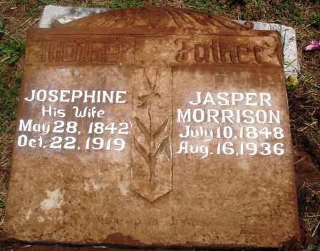 MORRISON, JASPER - Newton County, Arkansas | JASPER MORRISON - Arkansas Gravestone Photos