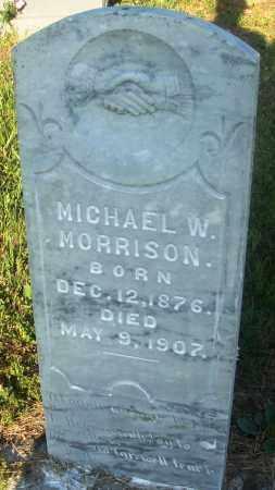 MORRISON, MICHAEL W - Newton County, Arkansas   MICHAEL W MORRISON - Arkansas Gravestone Photos