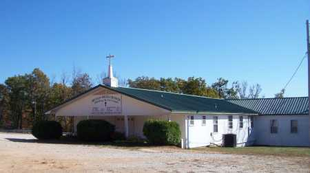 *MOUNTAIN SPRINGS CHURCH VIEW,  - Newton County, Arkansas    *MOUNTAIN SPRINGS CHURCH VIEW - Arkansas Gravestone Photos
