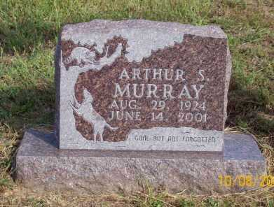 MURRAY, ARTHUR S. - Newton County, Arkansas | ARTHUR S. MURRAY - Arkansas Gravestone Photos