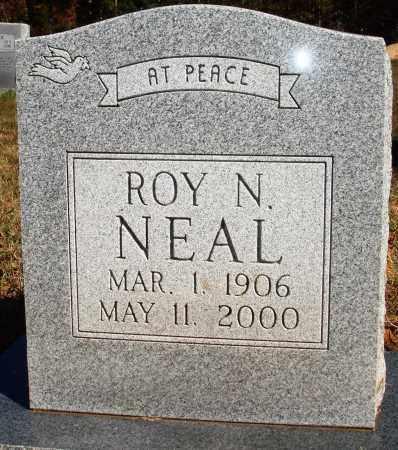 NEAL, ROY N. - Newton County, Arkansas   ROY N. NEAL - Arkansas Gravestone Photos