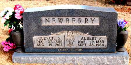 NEWBERRY, ALBERT  F. - Newton County, Arkansas | ALBERT  F. NEWBERRY - Arkansas Gravestone Photos