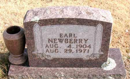 NEWBERRY, EARL - Newton County, Arkansas   EARL NEWBERRY - Arkansas Gravestone Photos