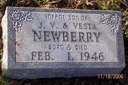 NEWBERRY, INFANT SON - Newton County, Arkansas | INFANT SON NEWBERRY - Arkansas Gravestone Photos