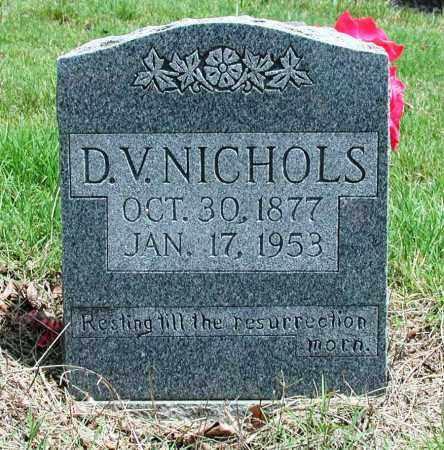 NICHOLS, D V - Newton County, Arkansas   D V NICHOLS - Arkansas Gravestone Photos