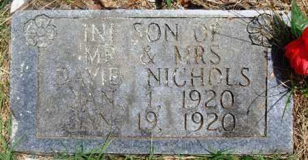 NICHOLS, INFANT SON - Newton County, Arkansas | INFANT SON NICHOLS - Arkansas Gravestone Photos