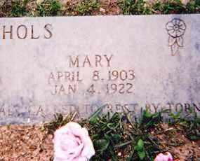 NICHOLS, MARY - Newton County, Arkansas | MARY NICHOLS - Arkansas Gravestone Photos