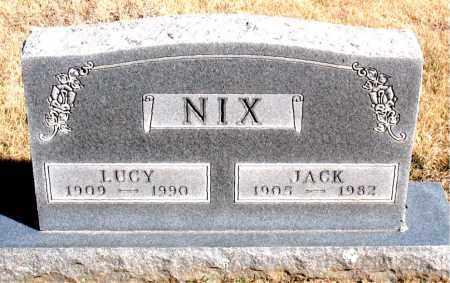 NIX, JACK - Newton County, Arkansas | JACK NIX - Arkansas Gravestone Photos