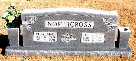 NORTHCROSS, RUBY MAE - Newton County, Arkansas   RUBY MAE NORTHCROSS - Arkansas Gravestone Photos