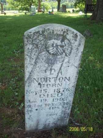 NORTON, IDA - Newton County, Arkansas | IDA NORTON - Arkansas Gravestone Photos