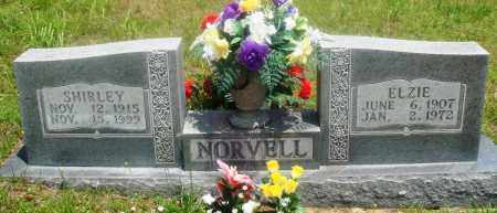 NORVELL, ELZIE - Newton County, Arkansas | ELZIE NORVELL - Arkansas Gravestone Photos