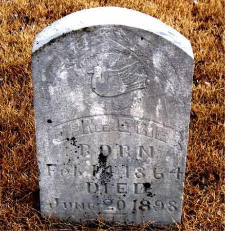 ORE, J. M. - Newton County, Arkansas   J. M. ORE - Arkansas Gravestone Photos
