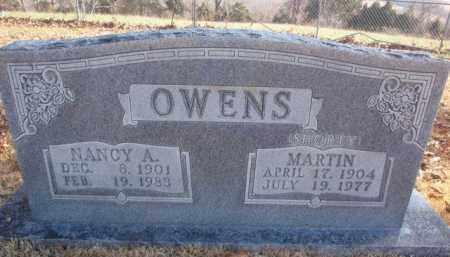 OWENS, NANCY A. - Newton County, Arkansas | NANCY A. OWENS - Arkansas Gravestone Photos