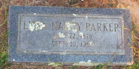 PARKER, LUCY NANCY - Newton County, Arkansas | LUCY NANCY PARKER - Arkansas Gravestone Photos