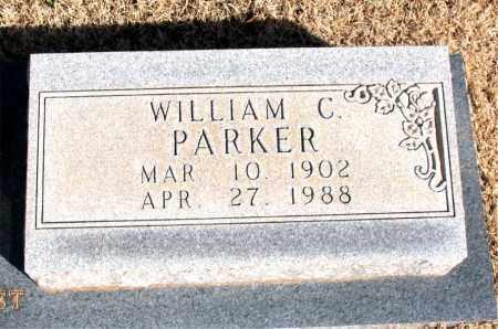 PARKER, WILLIAM C. - Newton County, Arkansas | WILLIAM C. PARKER - Arkansas Gravestone Photos