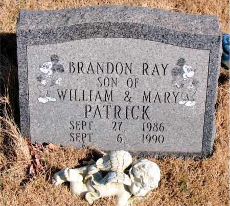 PATRICK, BRANDON RAY - Newton County, Arkansas | BRANDON RAY PATRICK - Arkansas Gravestone Photos