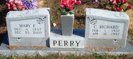 PERRY, MARY F. - Newton County, Arkansas | MARY F. PERRY - Arkansas Gravestone Photos