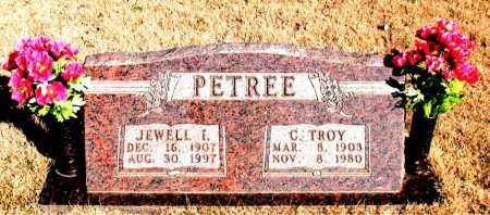 PETREE, JEWELL I. - Newton County, Arkansas   JEWELL I. PETREE - Arkansas Gravestone Photos