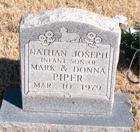 PIPER, NATHAN JOSEPH - Newton County, Arkansas | NATHAN JOSEPH PIPER - Arkansas Gravestone Photos