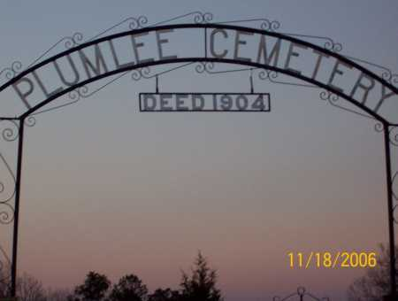*PLUMLEE CEMETERY GATE,  - Newton County, Arkansas |  *PLUMLEE CEMETERY GATE - Arkansas Gravestone Photos