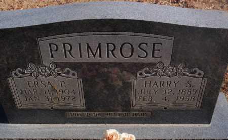 PRIMROSE, HARRY S - Newton County, Arkansas | HARRY S PRIMROSE - Arkansas Gravestone Photos