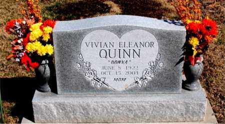 QUINN, VIVIAN ELEANOR - Newton County, Arkansas | VIVIAN ELEANOR QUINN - Arkansas Gravestone Photos