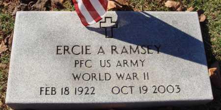 RAMSEY  (VETERAN WWII), ERCIE A - Newton County, Arkansas | ERCIE A RAMSEY  (VETERAN WWII) - Arkansas Gravestone Photos