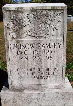RAMSEY, CRUSOW - Newton County, Arkansas | CRUSOW RAMSEY - Arkansas Gravestone Photos