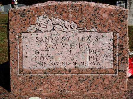 RAMSEY, SANFORD LEWIS - Newton County, Arkansas   SANFORD LEWIS RAMSEY - Arkansas Gravestone Photos