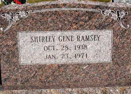 RAMSEY, SHIRLEY GENE - Newton County, Arkansas | SHIRLEY GENE RAMSEY - Arkansas Gravestone Photos