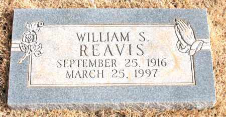 REAVIS, WILLIAM S. - Newton County, Arkansas | WILLIAM S. REAVIS - Arkansas Gravestone Photos