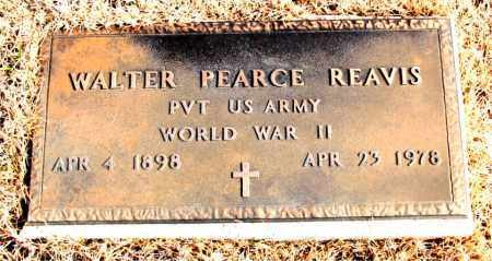 REAVIS (VETERAN WWII), WALTER PEARCE - Newton County, Arkansas   WALTER PEARCE REAVIS (VETERAN WWII) - Arkansas Gravestone Photos