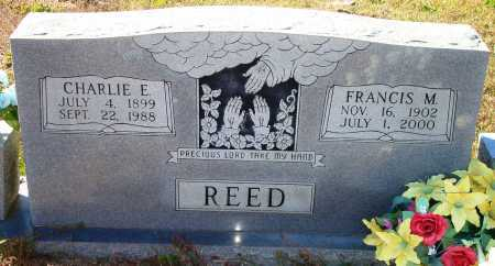 REED, CHARLIE E. - Newton County, Arkansas | CHARLIE E. REED - Arkansas Gravestone Photos