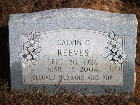 REEVES, CALVIN C. - Newton County, Arkansas | CALVIN C. REEVES - Arkansas Gravestone Photos