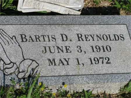 REYNOLDS, BARTIS D. - Newton County, Arkansas   BARTIS D. REYNOLDS - Arkansas Gravestone Photos