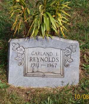 REYNOLDS, GARLAND I. - Newton County, Arkansas | GARLAND I. REYNOLDS - Arkansas Gravestone Photos