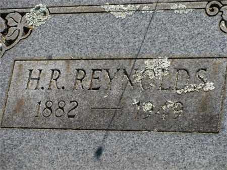 REYNOLDS, H. R. - Newton County, Arkansas   H. R. REYNOLDS - Arkansas Gravestone Photos