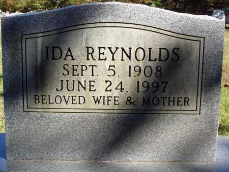 REYNOLDS, IDA - Newton County, Arkansas | IDA REYNOLDS - Arkansas Gravestone Photos