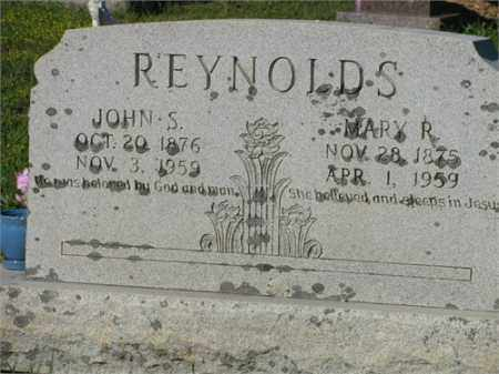REYNOLDS, MARY R. - Newton County, Arkansas | MARY R. REYNOLDS - Arkansas Gravestone Photos